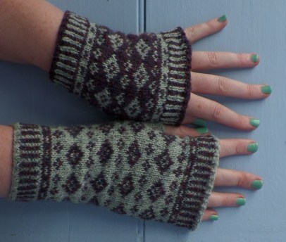 New Pattern - Hildasay Mittens