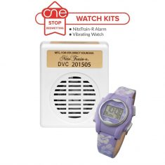 Nite Train-r Bedwetting Alarm Watch Kit - One Stop Bedwetting