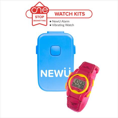 NewU Bedwetting Alarm Watch Kit - One Stop Bedwetting