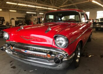 1957 Chevrolet Bel Air, Classic car, rental car, old car