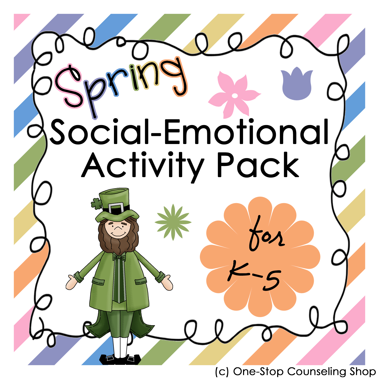 New Product Spring Holiday Social Emotional Activity Pack
