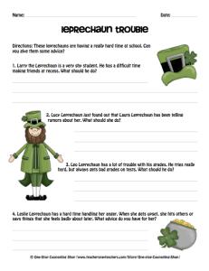 St. Patrick Problem Solving