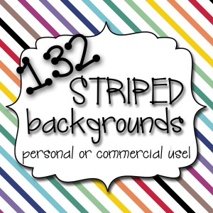 Striped Background Cover