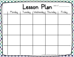4 Lesson Plan