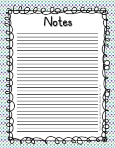 Notes 1 Cool