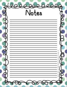 Notes 3 Cool
