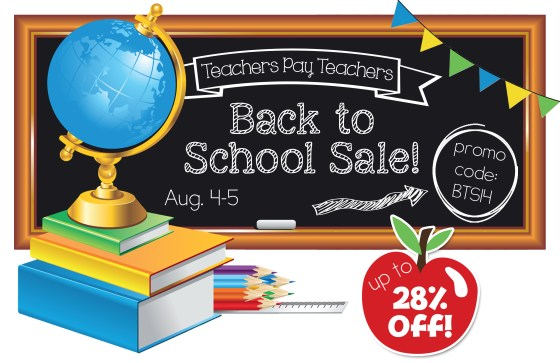 Back to School Sale 2014