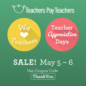Teacher Appreciation Days Sale