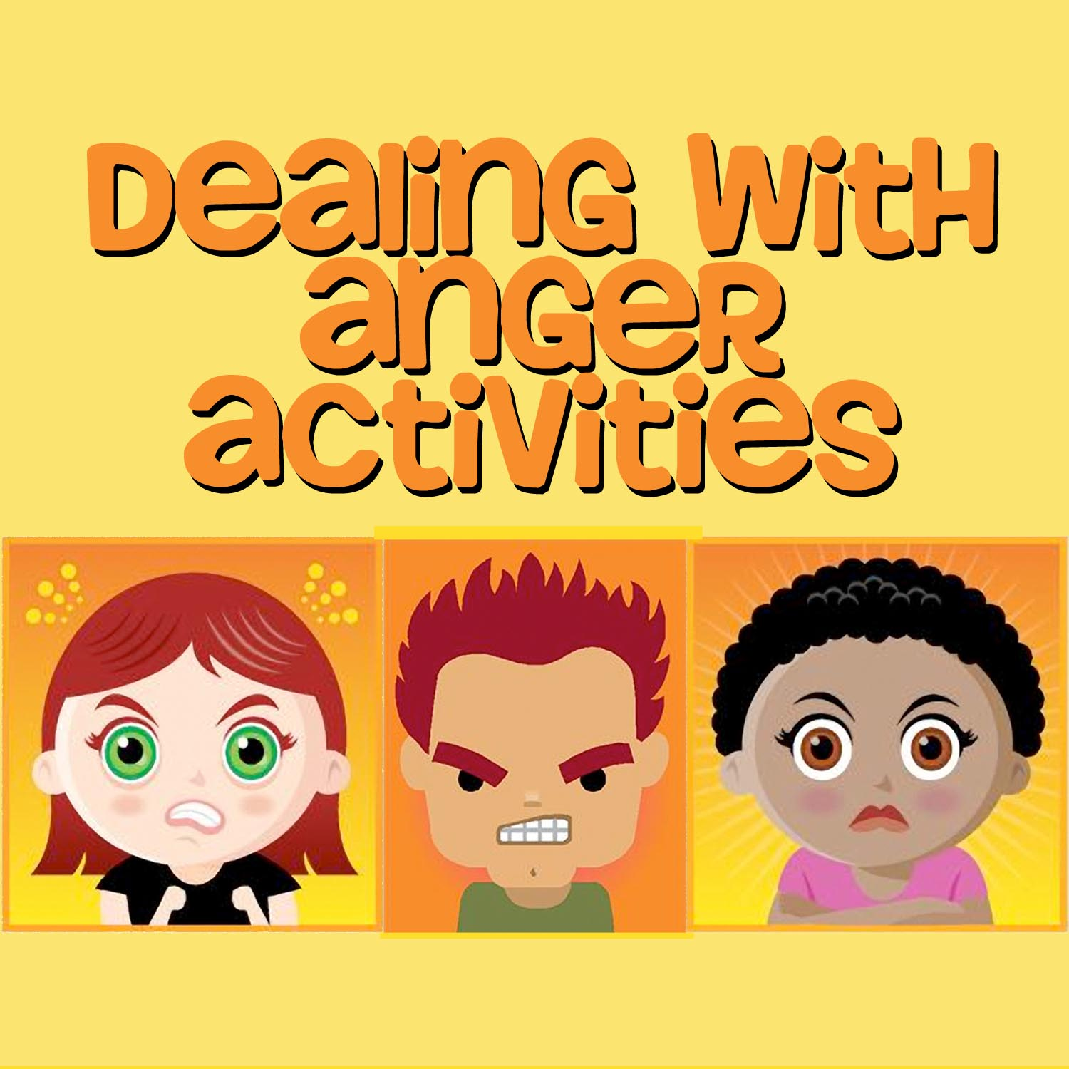 New Product Dealing With Anger Activity Pack