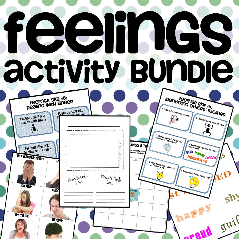 New Product Feelings Activity Bundle