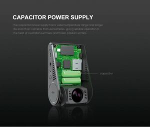 Image of a power supply packet for Viofo A129 Car Dash Camera