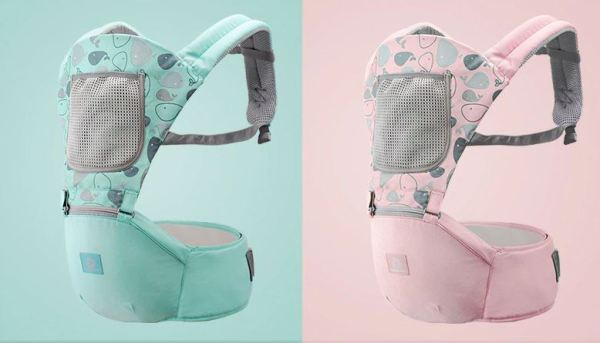 Rear View of Baby Carrier.