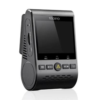 Left side view of the Viofo 129 Car Dash Camera