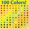 100 Colors Super Tips Washable Markers