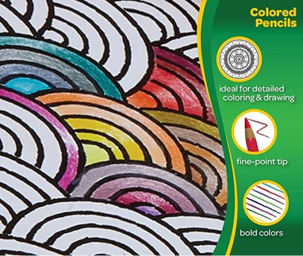 Bold Colors for Adult Coloring Books