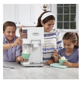 Cuisinart Ice Cream Maker 451 Children Making Soft Ice Cream