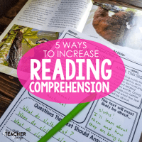 5 Ways to Increase Reading Comprehension