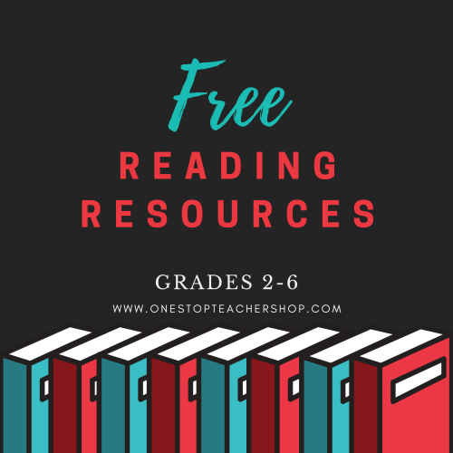 A collection of FREE Reading resources for teachers! These printable and digital reading comprehension activities are perfect for spiral review, reading centers, distance learning, guided reading, and more! Be sure to download them all! Available for 2nd Grade, 3rd, 4th, 5th, and 6th.