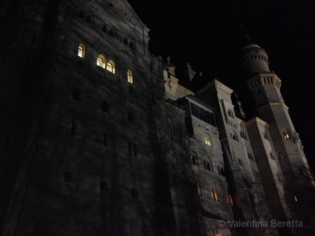 castello neuschwanstein notte