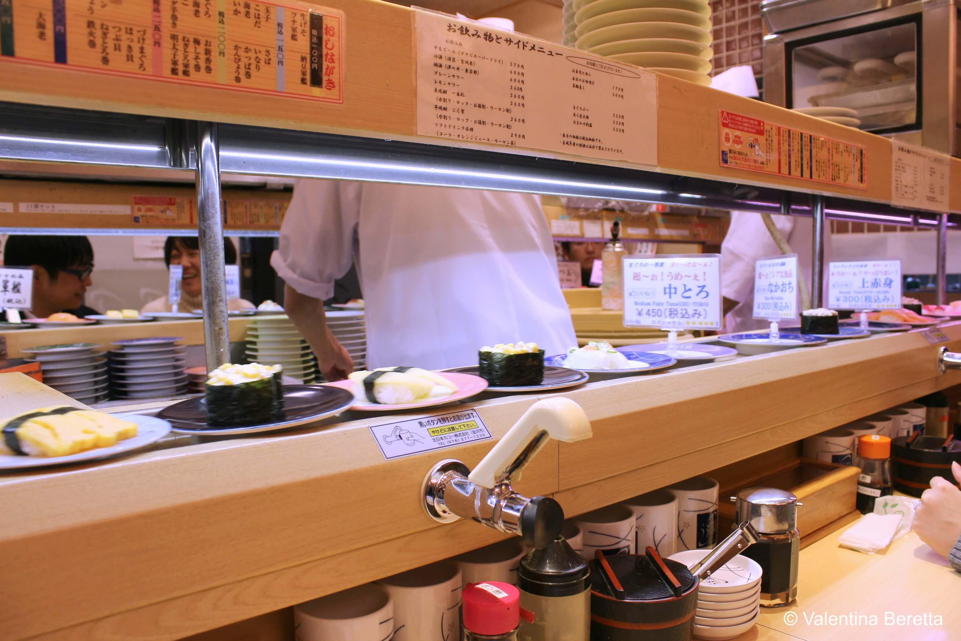 Cibo giapponese: ogni quanto mangiare sushi e il menu ...
