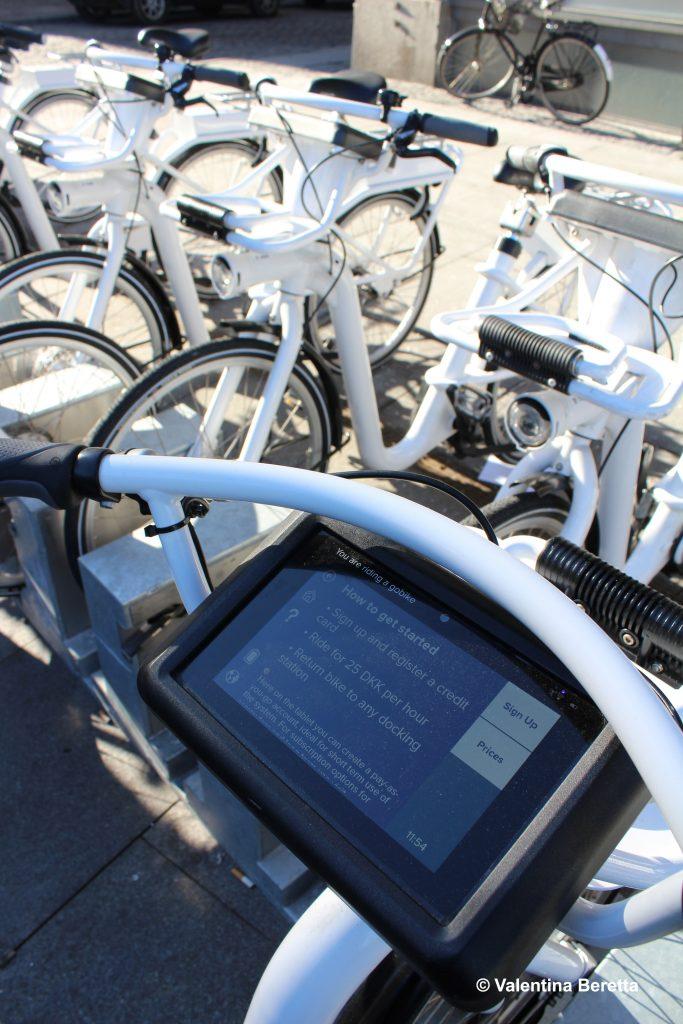 muoversi a copenhagen noleggio bicicletta