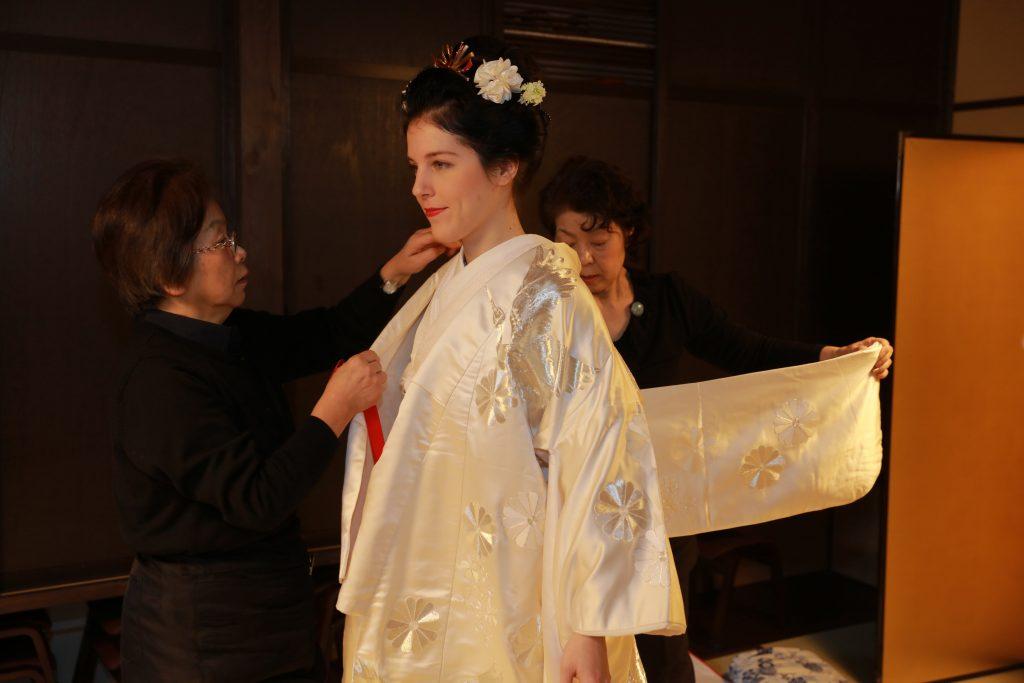 viaggio di nozze in giappone sposa