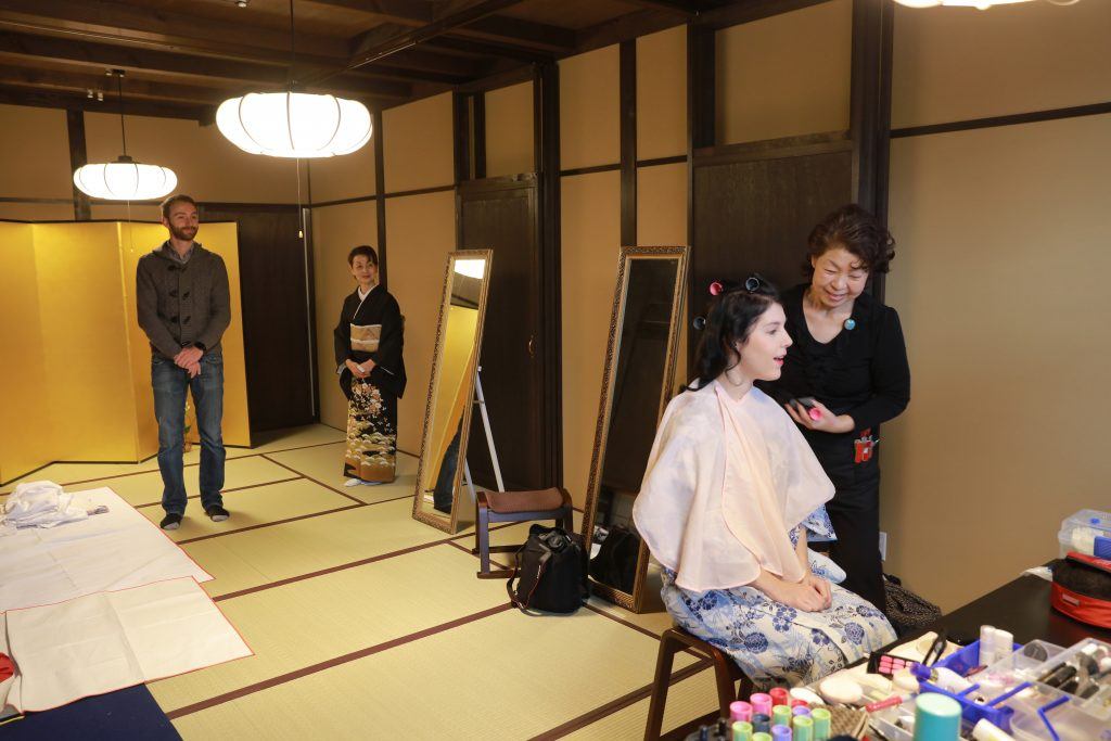 honeymoon travel in japan make up