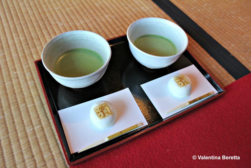tè verde dolci