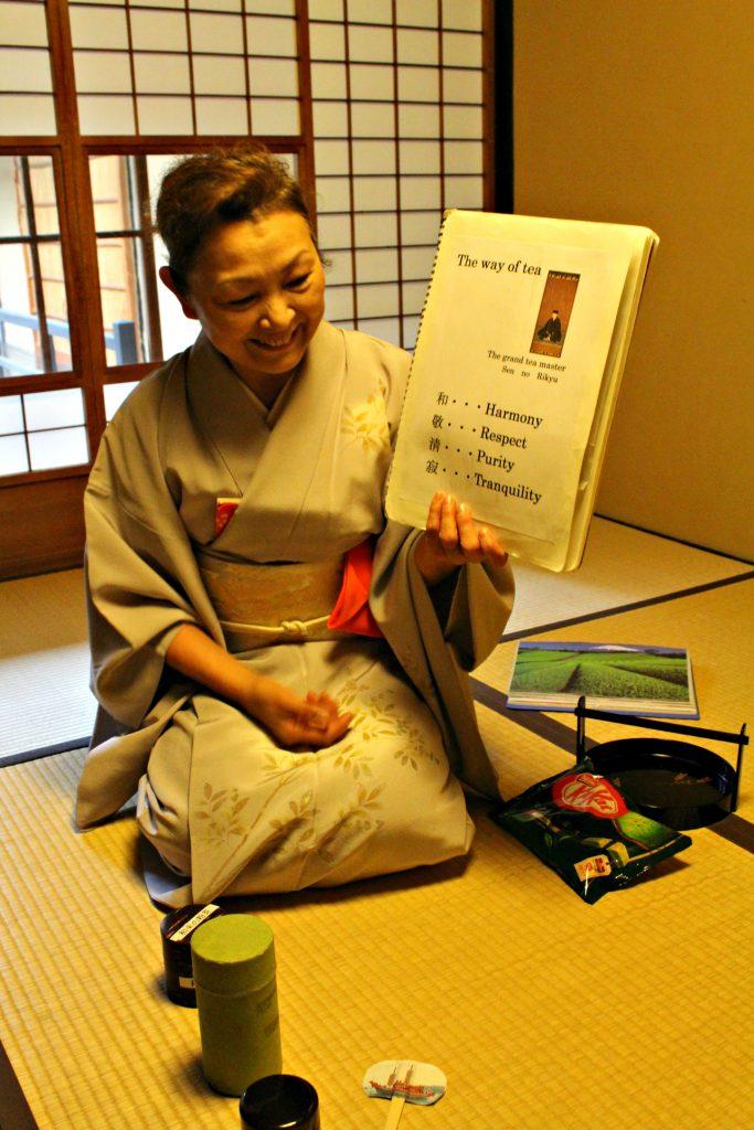 cerimonia del te kyoto mayumi