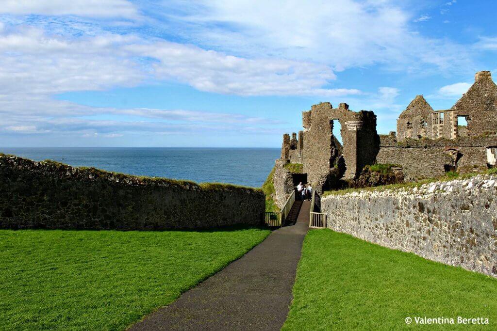 castelli irlanda ponte dunluce
