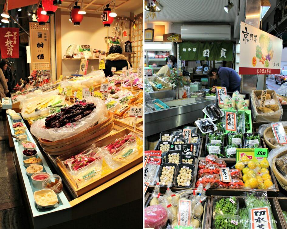 mercato kyoto bancarelle