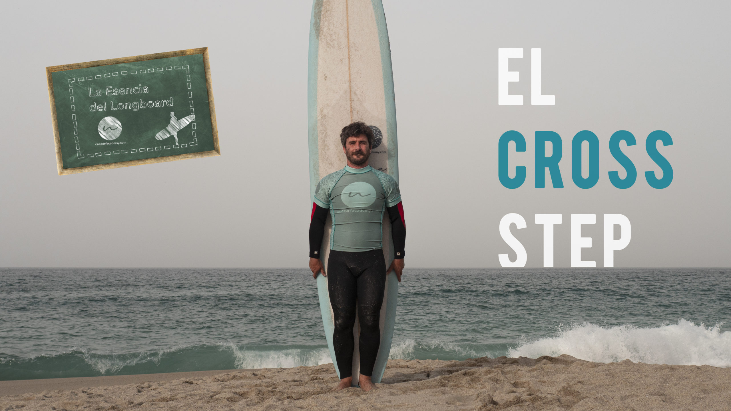 Surfea tu Longboard con la técnica Cross Step