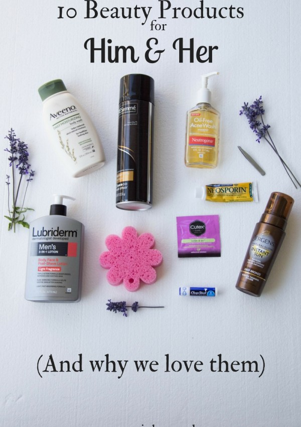 10 Beauty Products You Can BOTH Use