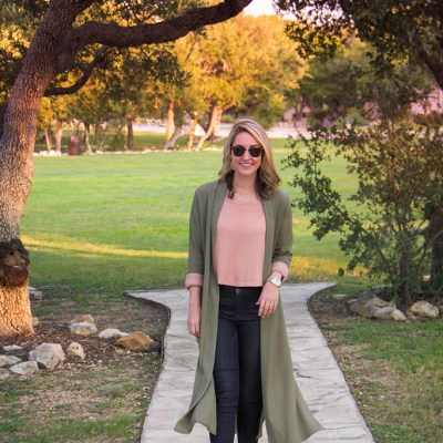 How To Wear A Duster Jacket For Fall