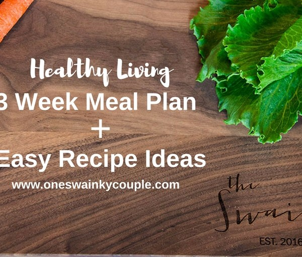 Healthy 3-Week Meal Plan + Recipe Ideas