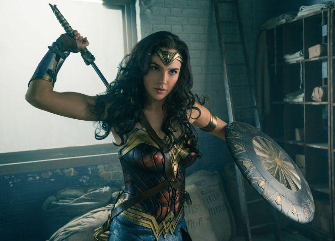 Gal Gadot slaying as Diana in Wonder Woman. Image via Roadshow Films NZ / Undertow Media | onetakekate.com