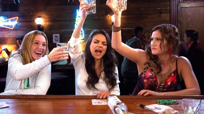 Kristen Bell, Mila Kunis and Kathryn Hahn star in Bad Moms 2. Image via YouTube | Bad Moms 2 Official Trailer | onetakekate.com