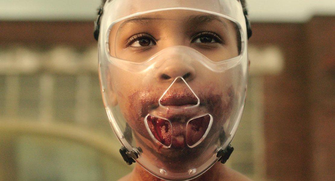 Sennia Nanua stars in The Girl With All The Gifts. Image via Modern Horror.com   onetakekate.com