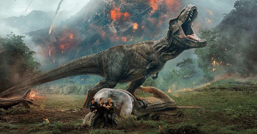 Jurassic World Fallen Kingdom. Image via pro.boxoffice.com | onetakekate.com