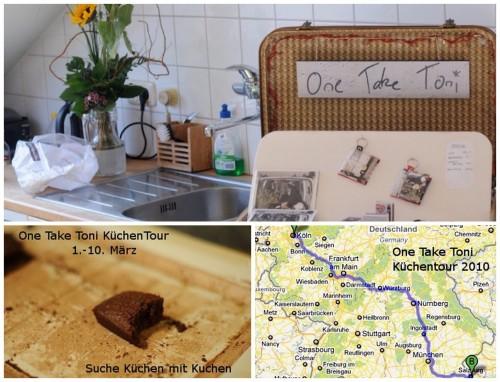 One Take Toni, Küchentour, 2010, Performance Hotel, Stuttgart, Bodenheim, Darmstadt,