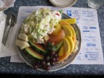 "A ""hot and cold"" salad at the Smithville Inn"