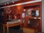 Interior of Inland Seas Museum at Vermilion