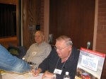 Last year, 2009, at Buckeye Book Fair signing books