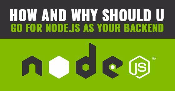 Node.js As Backend