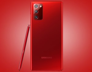 mystic red Galaxy Note 20