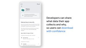 Google Privacy Labels