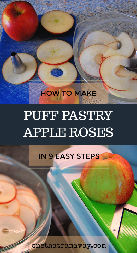 puff pastry apple roses in 9 easy steps