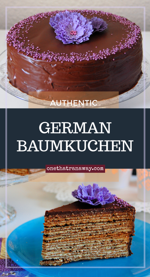 authentic German Baumkuchen