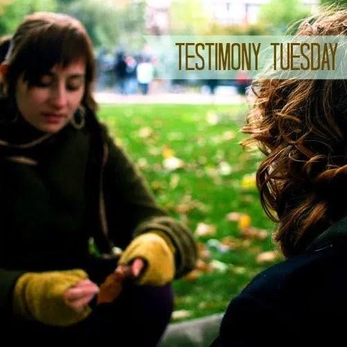 Testimony Tuesday