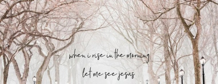 how to meet God when your're not a morning person